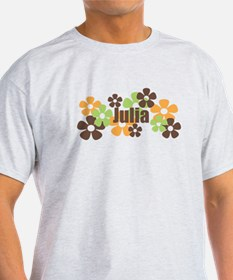 Julia - Fall Flowers T-Shirt