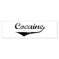 Cocaine Bumper Bumper Sticker
