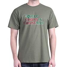Keep Christ Cross T-Shirt