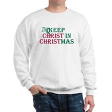 Keep Christ Cross Sweatshirt