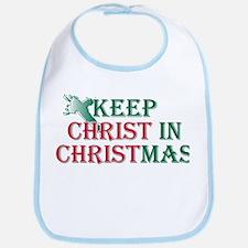 Keep Christ Cross Bib