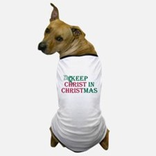 Keep Christ Cross Dog T-Shirt