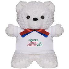 Keep Christ Cross Teddy Bear