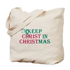 Keep Christ Cross Tote Bag