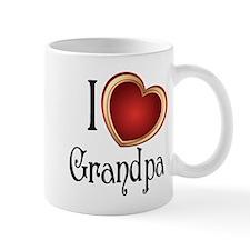 I heart Grandpa Mug