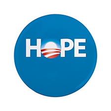 """Hope/Obama"" 3.5"" Button"