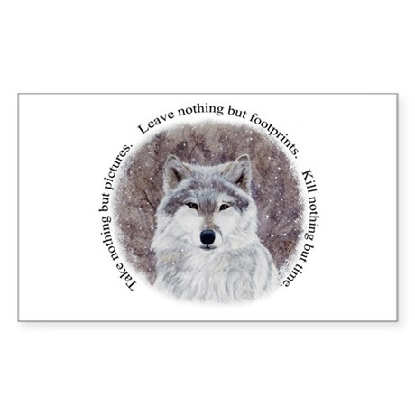 Timeless wisdom: Rectangle Sticker