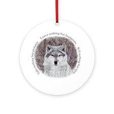 Timeless wisdom: Ornament (Round)