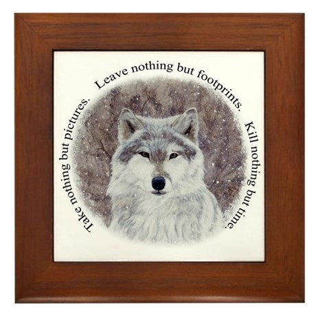 Timeless wisdom: Framed Tile