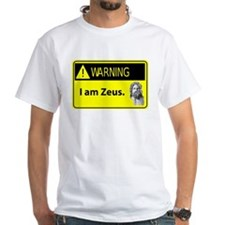 Warning: I am Zeus Shirt