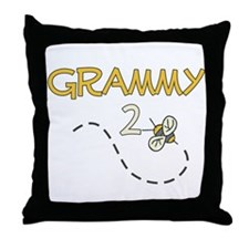 Grammy to Be (Bee) Throw Pillow