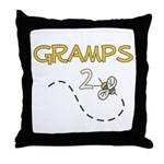 Gramps to Be (Bee) Throw Pillow