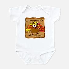 Grandma's Little Turkey Thanksgiving Infant Bodysu