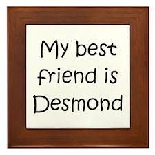 Cute Desmond Framed Tile