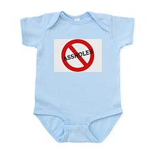 Anti-Assholes Infant Creeper