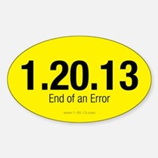 End of an Error Yellow Decal