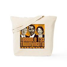 Tax Triumvirate Tote Bag