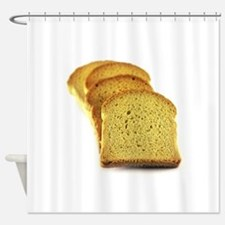 Double toasted Bread Shower Curtain