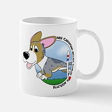 Cartoon Cardigan Agility Mug