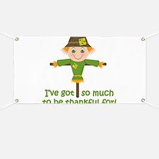 Cute Thanksgiving Banner