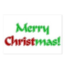 Christ in Christmas Postcards (Package of 8)