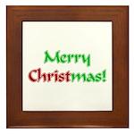 Christ in Christmas Framed Tile