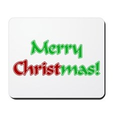 Christ in Christmas Mousepad