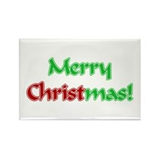 Christ in Christmas Rectangle Magnet