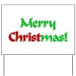 Christ in Christmas Yard Sign