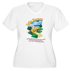 Lyle House Women's V-Neck T- Plus Size T-Shirt