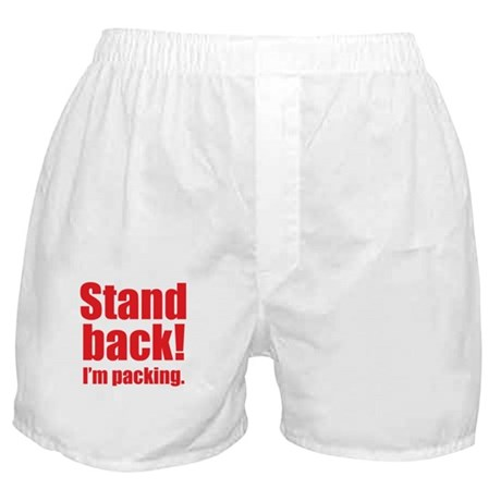 """I'm Packing"" Boxer Shorts"