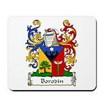 Borodin Family Crest Mousepad