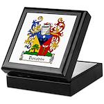 Borodin Family Crest Keepsake Box
