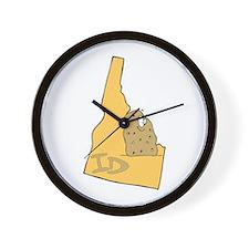 Idaho Pride! Wall Clock