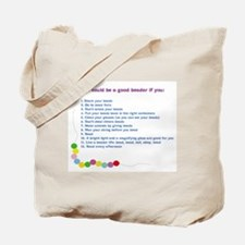 You could be a Good Beader if Tote Bag