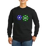 GrinderSchool Long Sleeve Dark T-Shirt