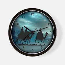 Christmas Wisemen Wall Clock