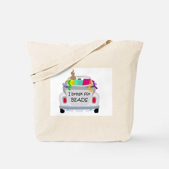 I brake for beads Tote Bag