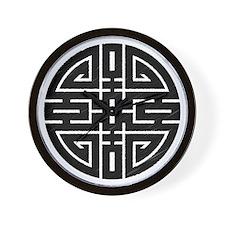 Chinese Longevity Wall Clock
