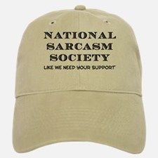 National Sarcasm Baseball Baseball Cap