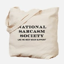National Sarcasm Tote Bag