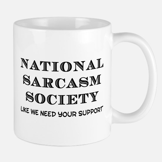 National Sarcasm Small Mug