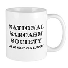 National Sarcasm Small Mugs