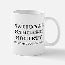 National Sarcasm Small Mugs