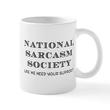 National Sarcasm Small Small Mug