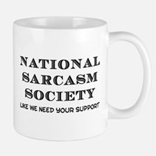 National Sarcasm Small Small Mug