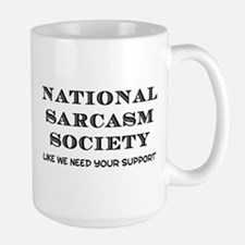 National Sarcasm Ceramic Mugs