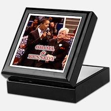 Obama & Kennedy Keepsake Box