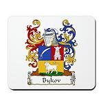 Bykov Family Crest Mousepad