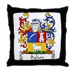 Bykov Family Crest Throw Pillow